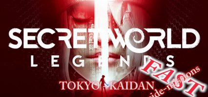Secret World Legends – Kaidan Tokyo side-missions run